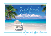 Tropical Retreat Congratulations Cards